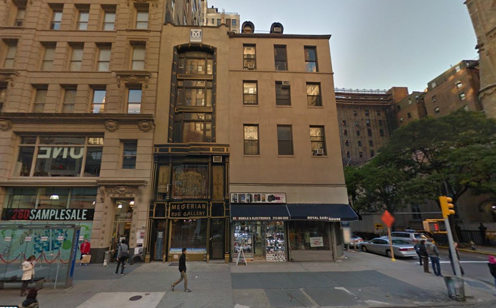 262 and 264 Fifth Avenue, image via Google Maps