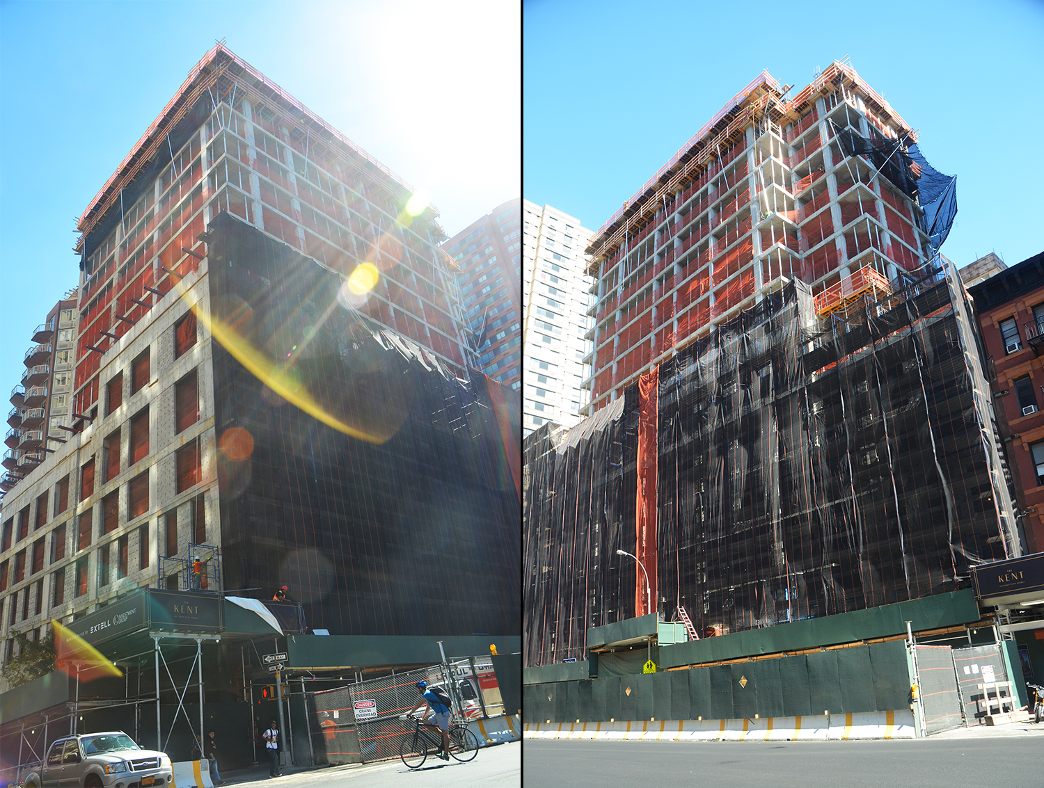 The Kent, at 200 East 95th Street. All photographs by the author