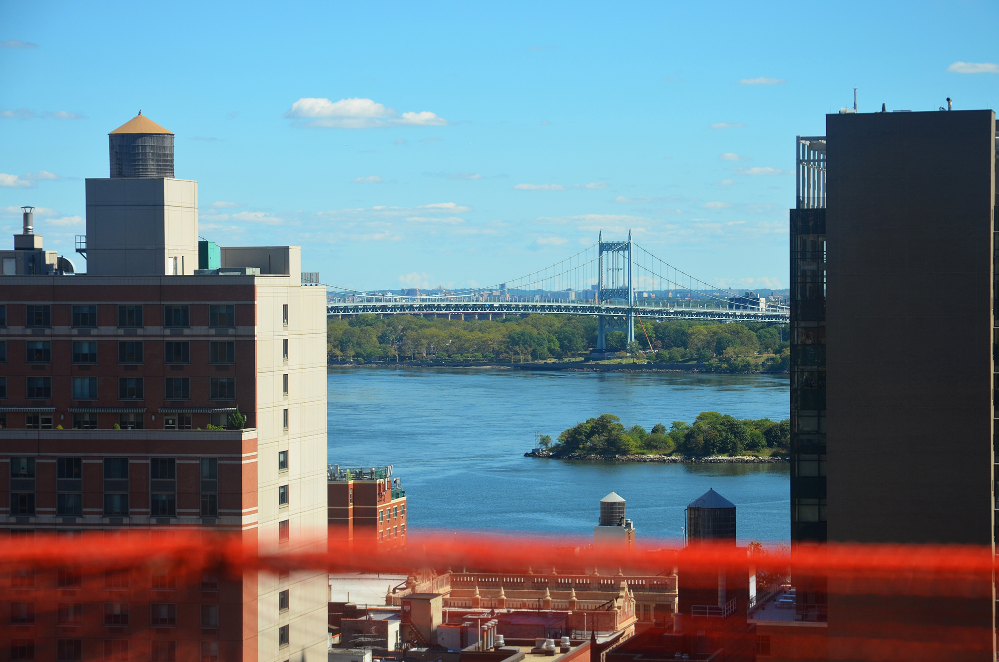 View of the RFK Bridge and East River from The Kent, 200 East 95th Street