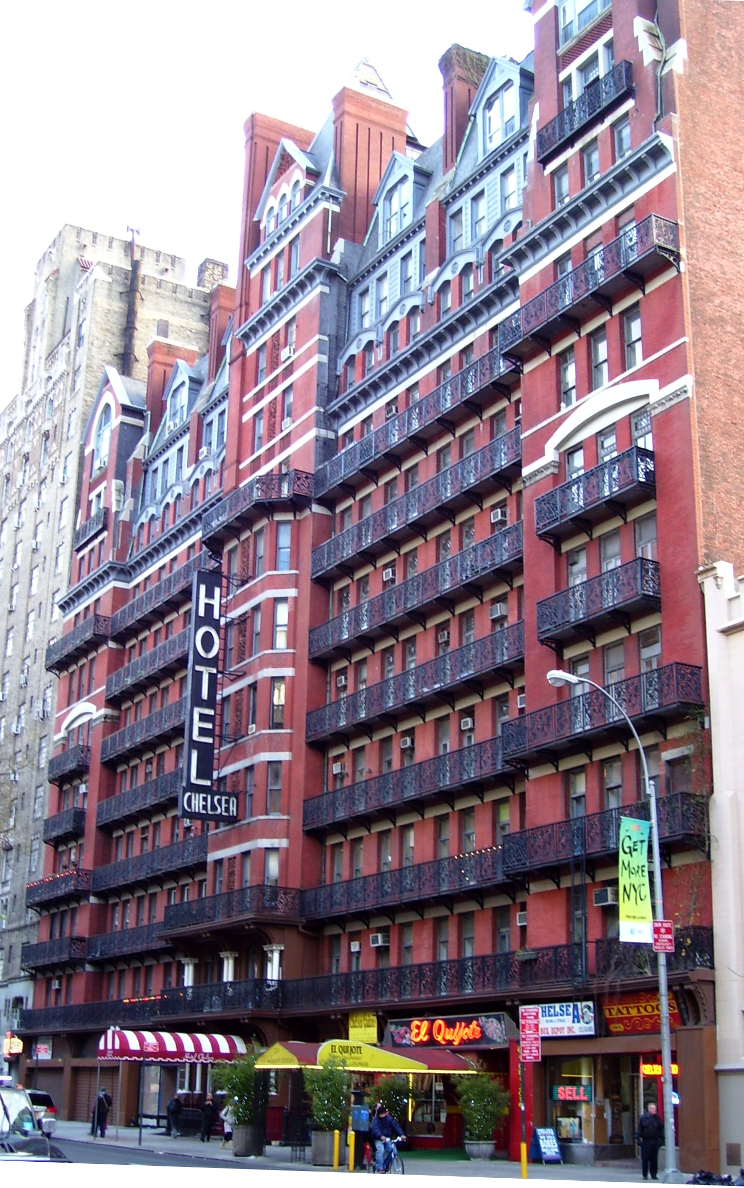New Owners Plan Hotel Condo Conversion Of 12 Story Chelsea At 222 West 23rd Street