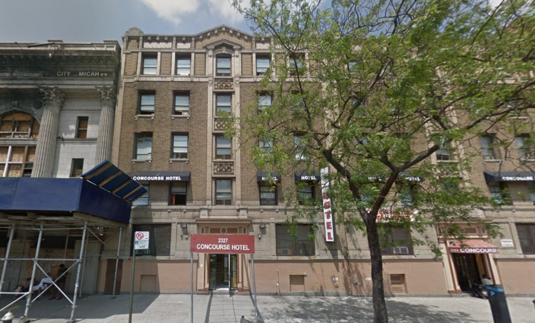 2327 Grand Concourse, image via Google Maps