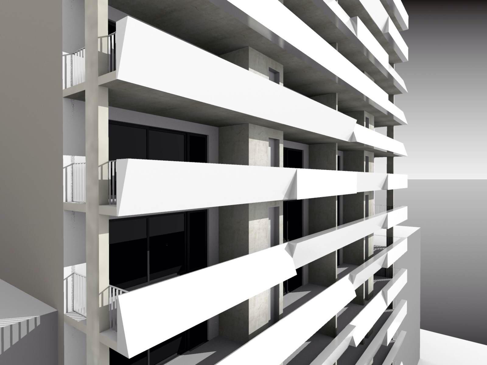 Another rendering of 271 Lenox Road, via Hello Living
