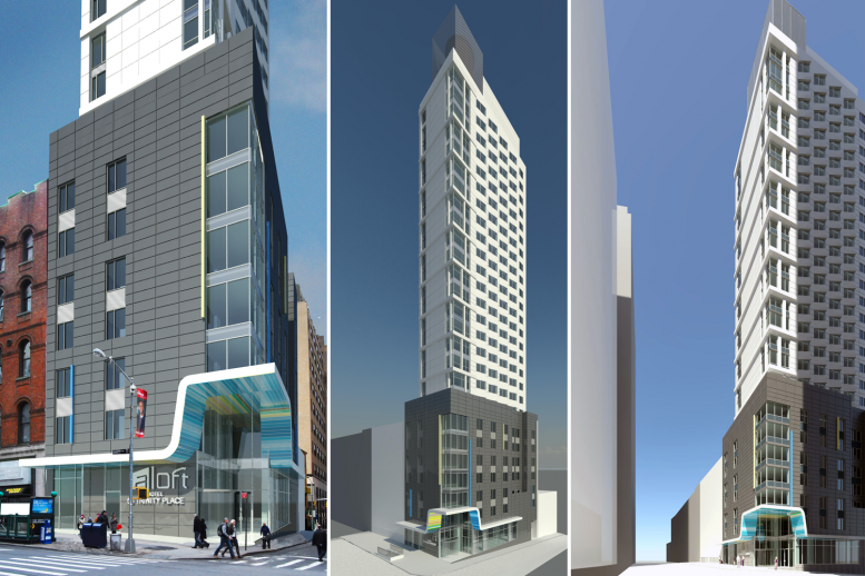 50 Trinity Place, rendering by Peter Poon Architects