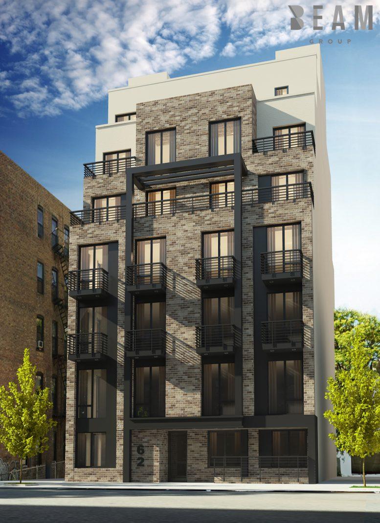 62 East 21st Street, rendering by Beam Group