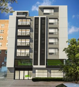 625 East 18th Street, rendering via Infinity Properties