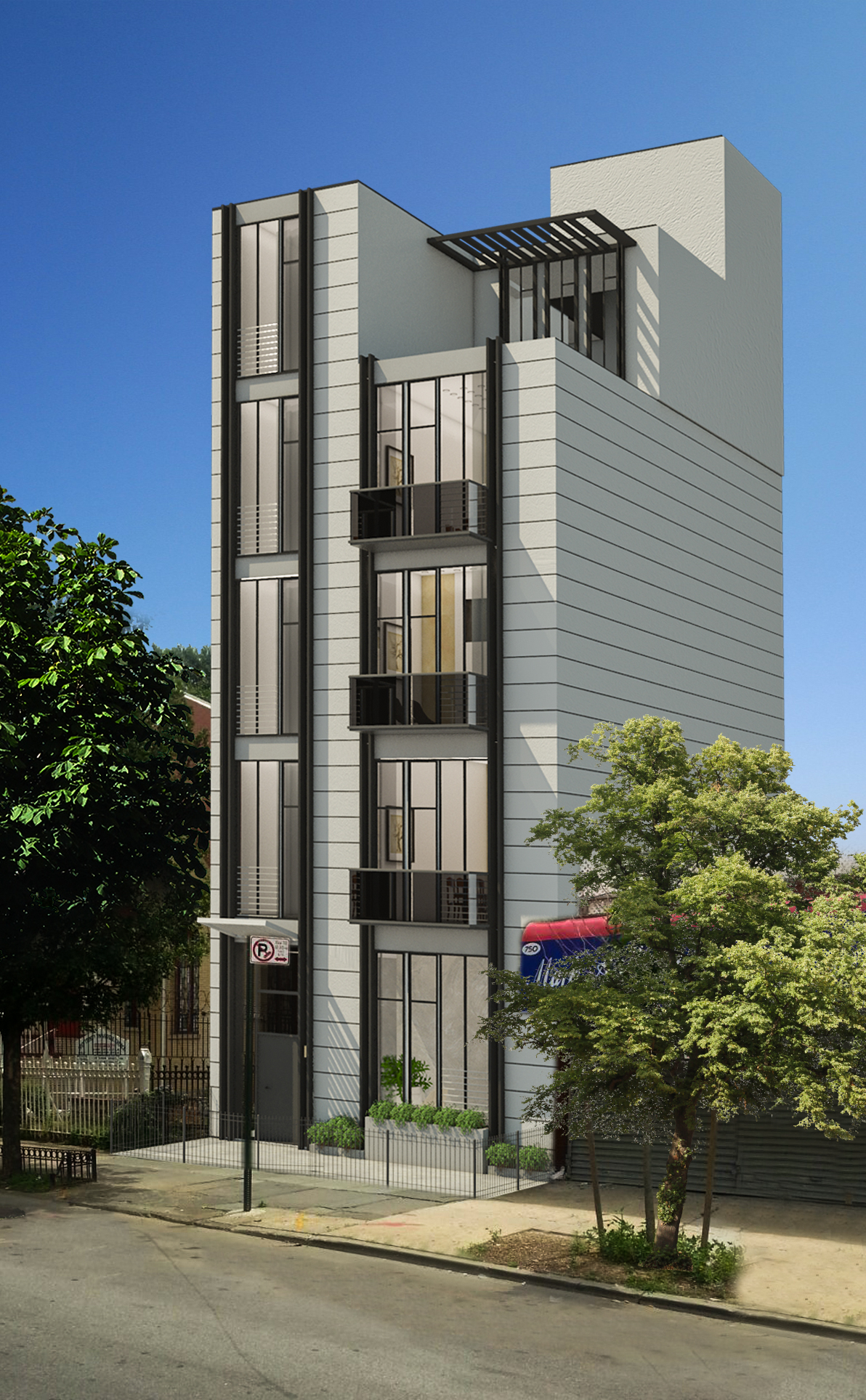 752 Quincy Street, rendering via Infinity Properties