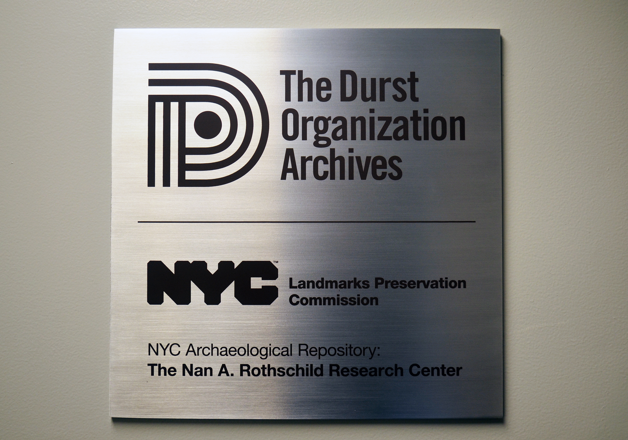 NYC Archaeological Repository Nan A. Rotshschild Research Center