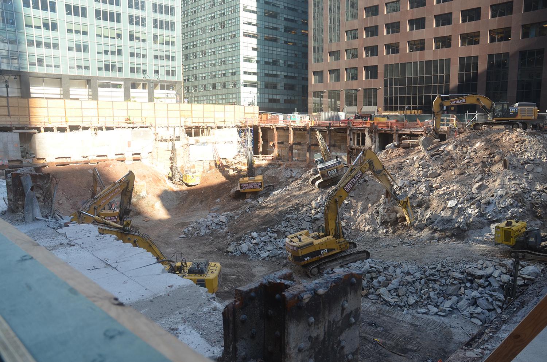 One Vanderbilt construction site