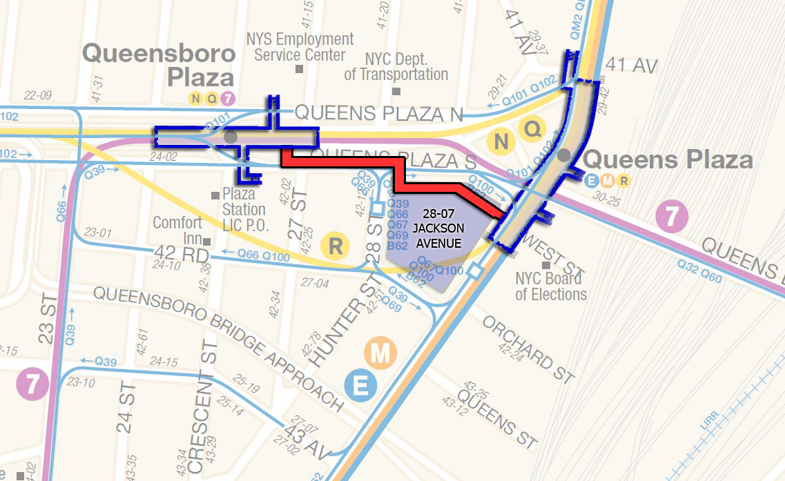 Subway Map Jamaica Station.Tishman Speyer And H R Reit Have Chance To Link Two Key Long Island
