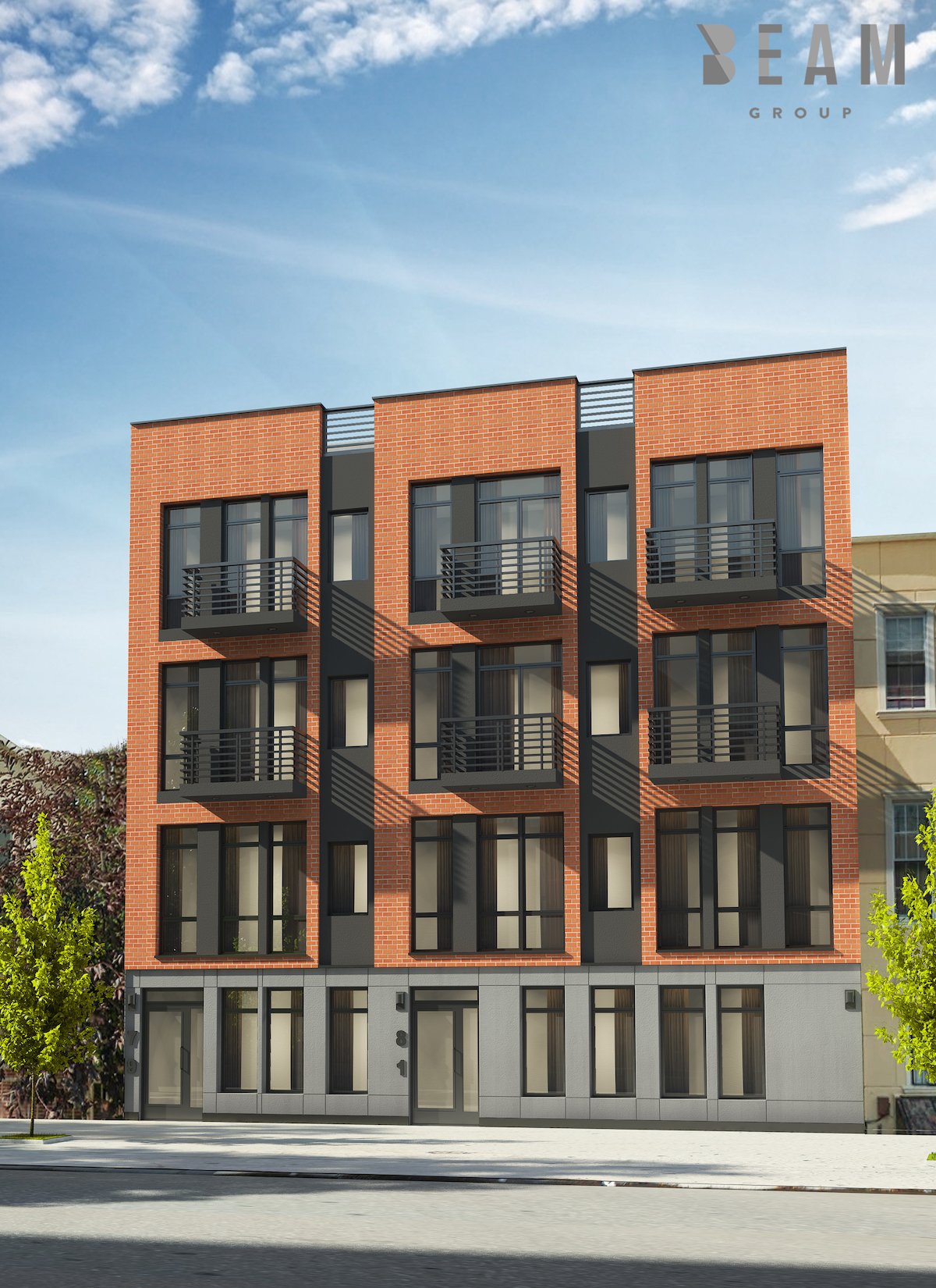 79-81 Stanhope Street, rendering by Beam Group