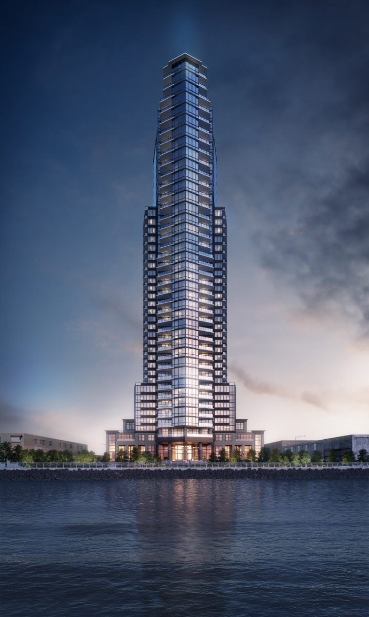 New Rendering For The Greenpoint 39 Story Tower Rising At 21 India Street In Brooklyn New