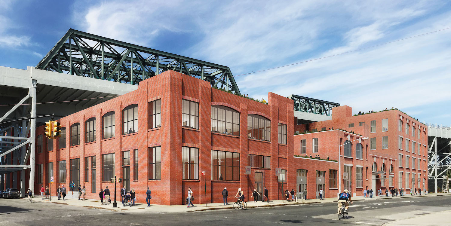 A renovated 94 9th Street, rendering by Morris Adjmi Architects