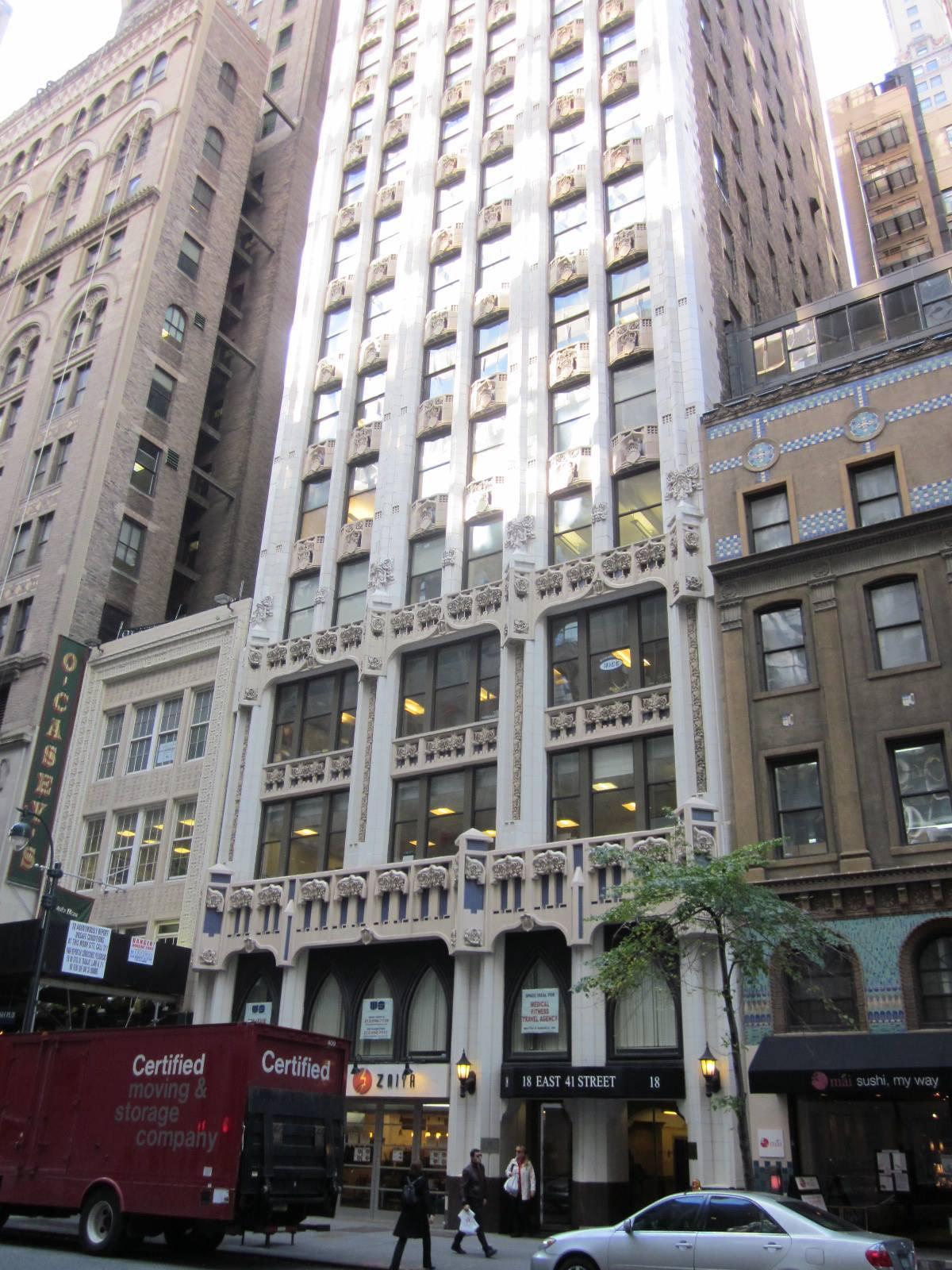 18 East 41st Street. LPC photo