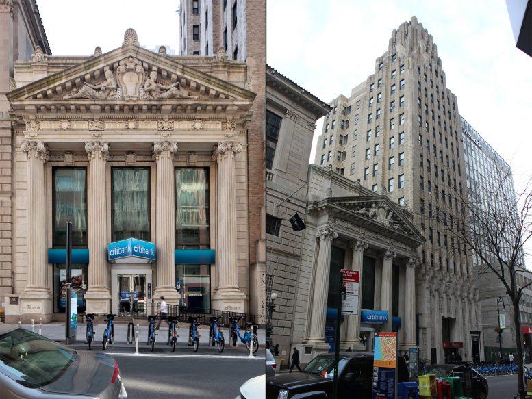 181 Montague Street and 185 Montague Street. LPC photos