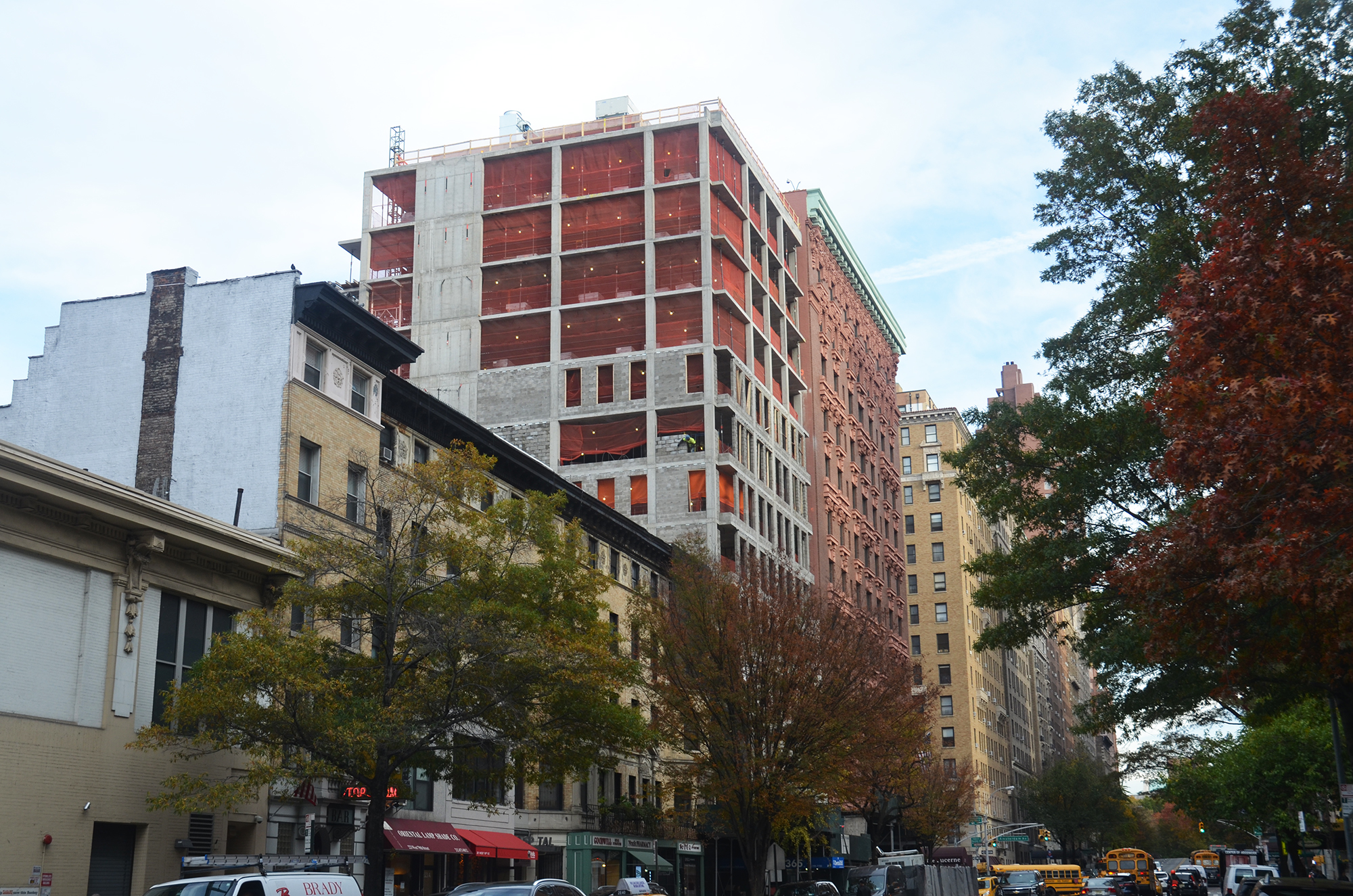207W79 as seen from the west