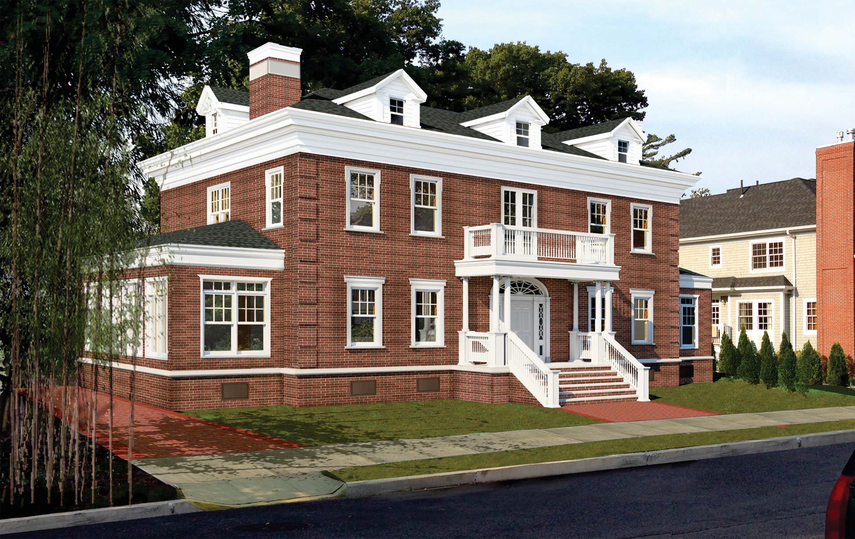 Proposal for new house at 233-33 38th Drive in Douglaston, Queens