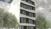 2353 Dean Street, rendering by Ibrahim Greenbridge
