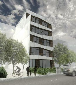 2353 Dean Street, rendering by Ibrahim Greenbridge