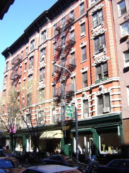 68-72 Thompson Street. GVSHP photo
