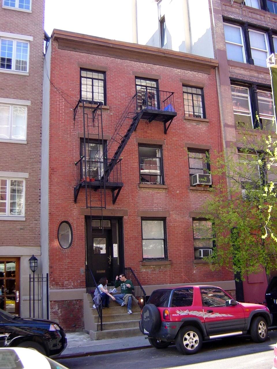 138 Sullivan Street. GVSHP phoo