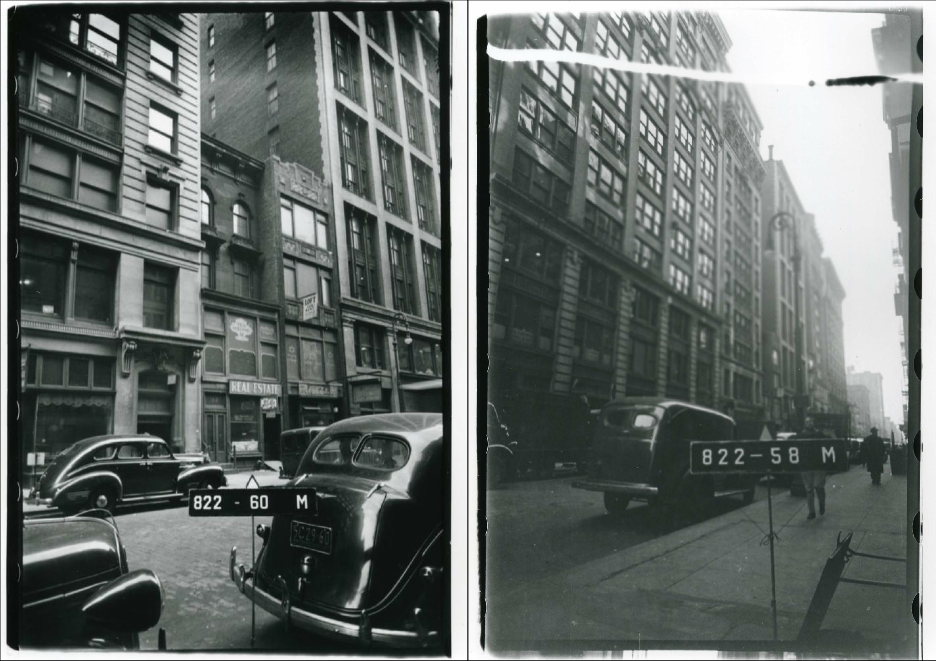 Historic photos showing 34 West 21st Street