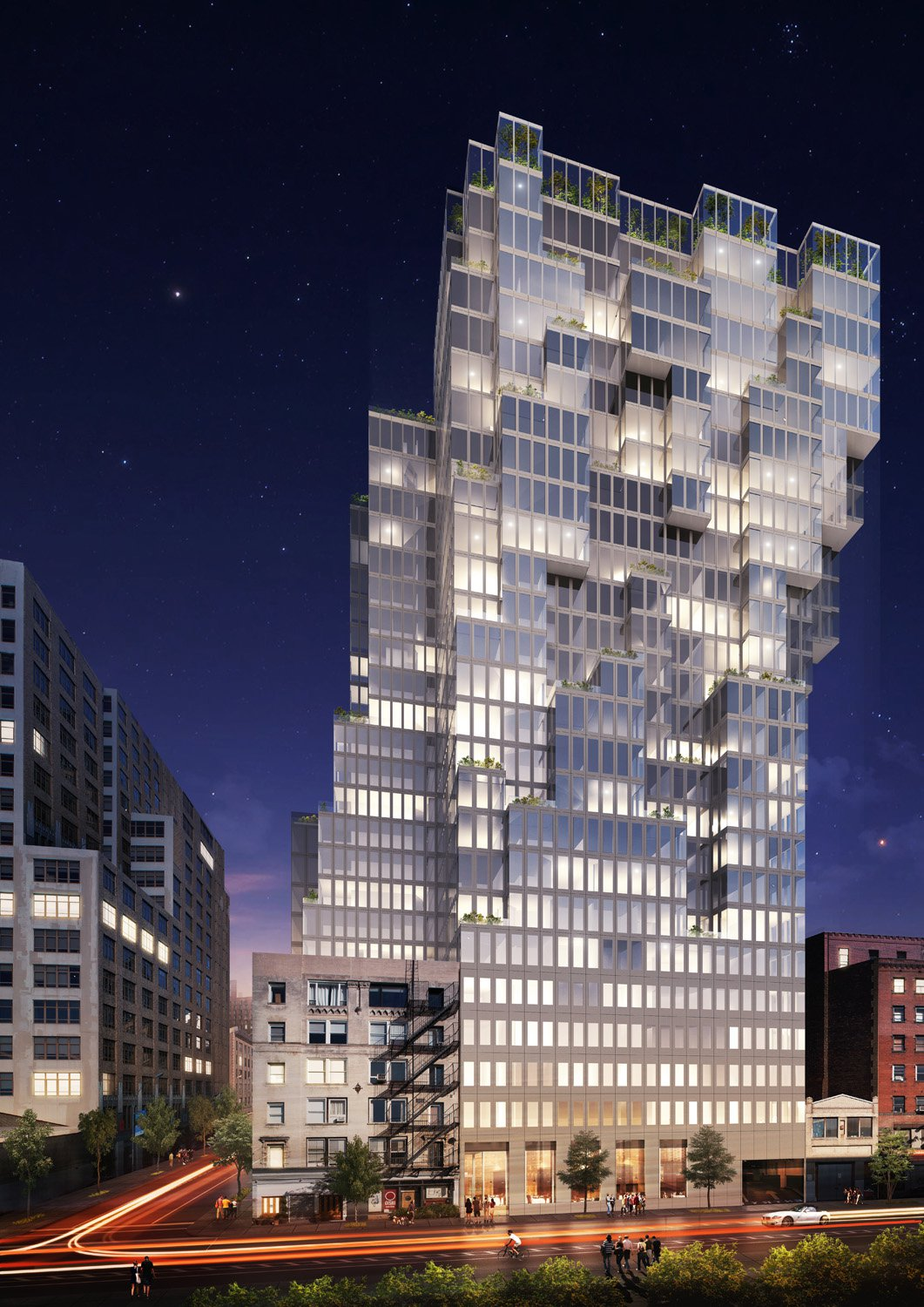 537 Greenwich Street, rendering by FR-EE
