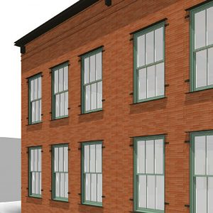 Proposed upper floor details at 94-96 Crosby Street