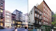 Proposals for 558 Broadway (left) and 94-96 Crosby Street (right)