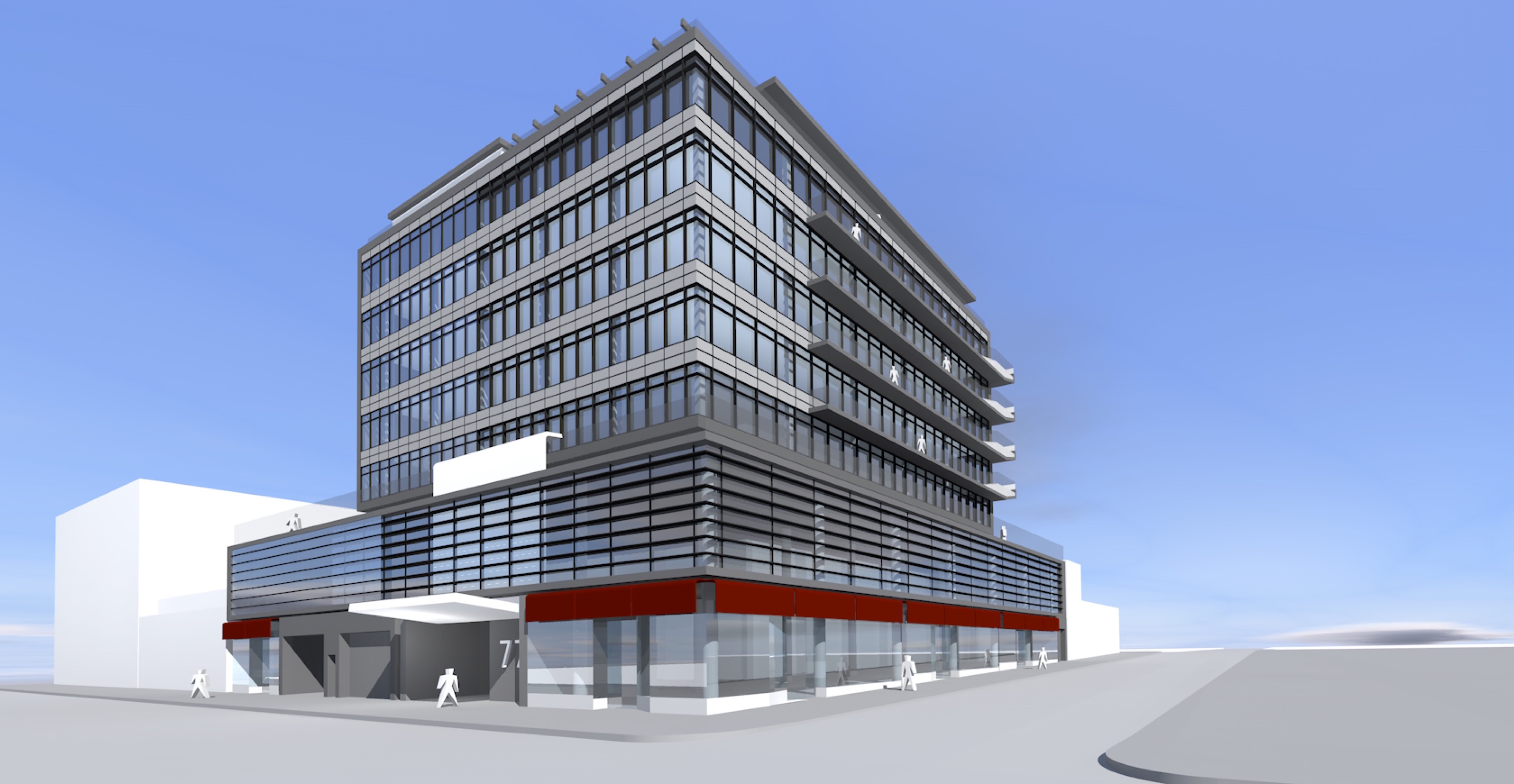 77 Wythe Avenue. rendering via Cayuga Capital