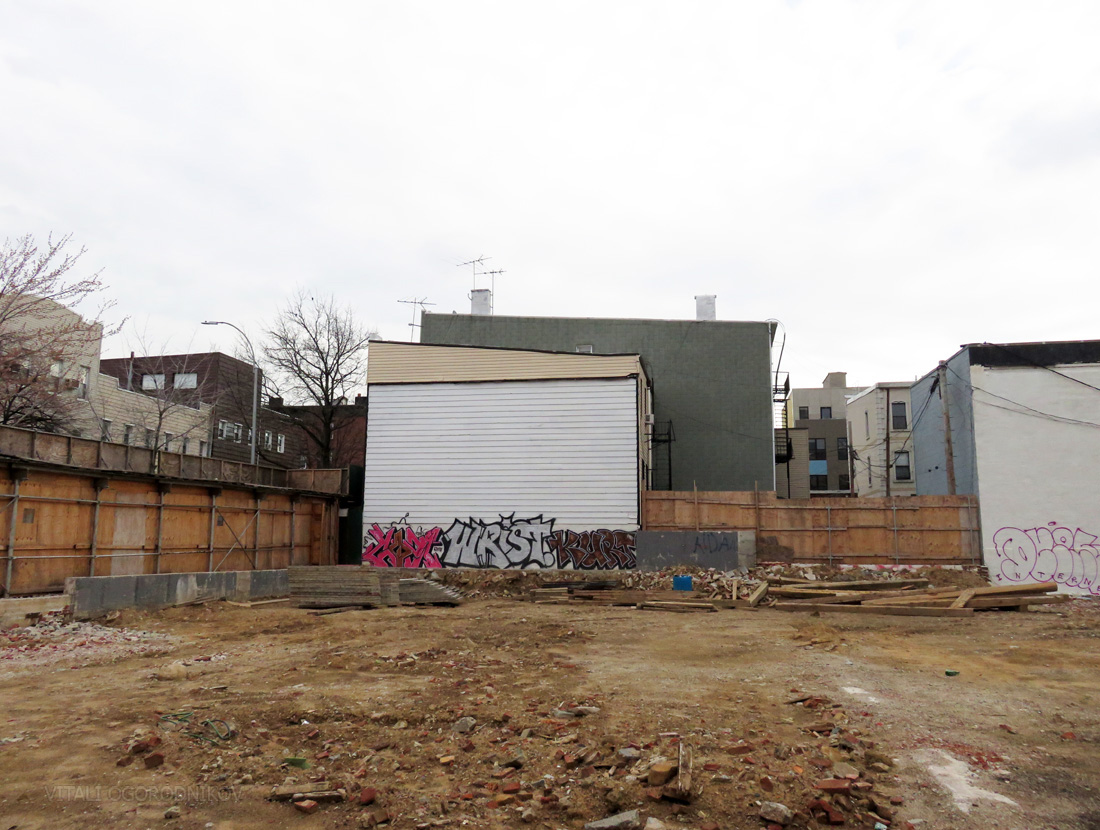New Developers Site Of Planned Nine Story 33 Unit Mixed Use Project At 88 Withers Street Williamsburg