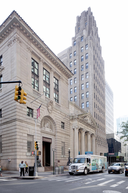 Brooklyn's Bank Row. LPC photo