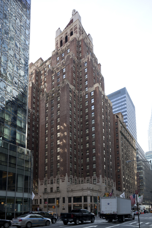 The Hotel Lexington at 511 Lexington Avenue. LPC photo