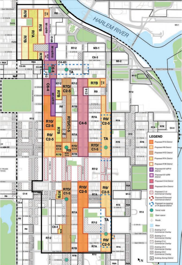 City Estimates the Impact of East Harlem Rezoning  New York YIMBY