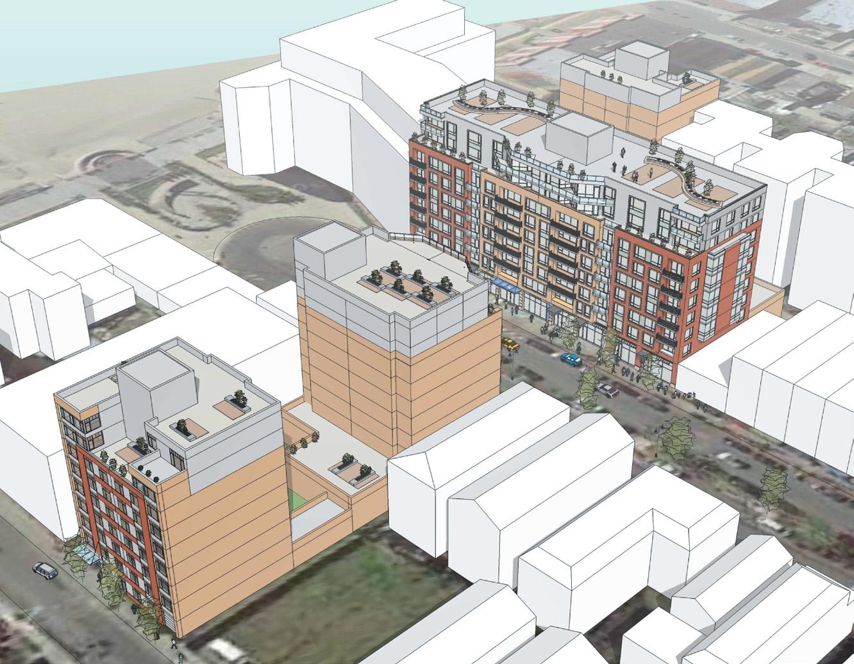 A master plan for Marcal Group's Seaside Landing development in Rockaway Park, via Rockaway Times