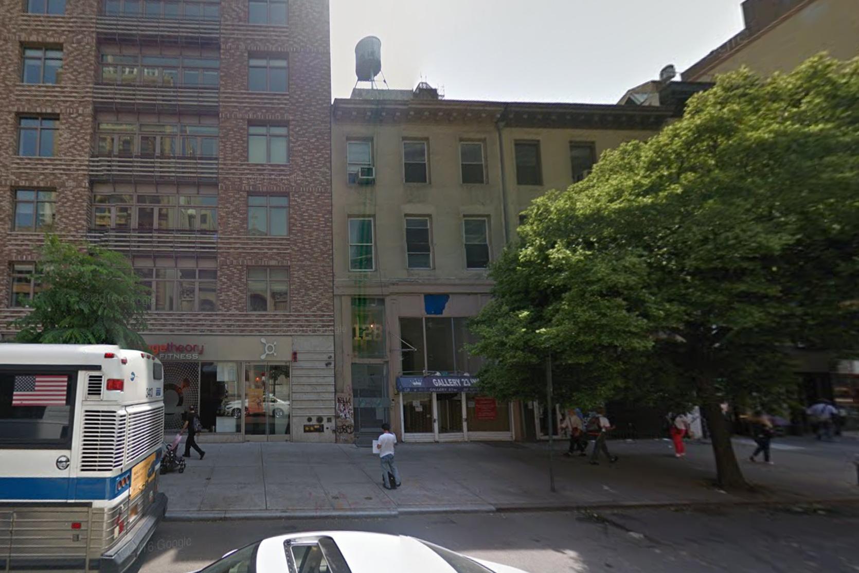 128 West 23rd Street, image via Google Maps