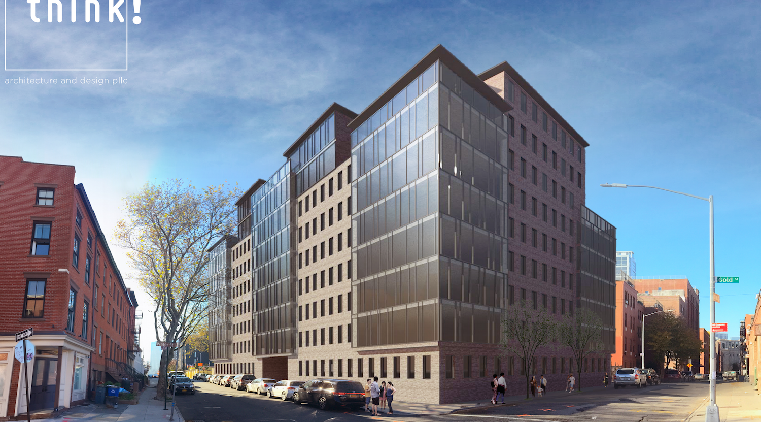 251 Front Street, rendering by Think Architecture and Design