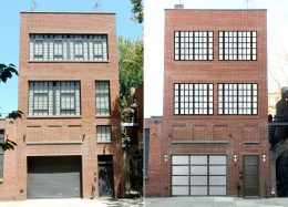 38 Bethune Street, existing and proposed