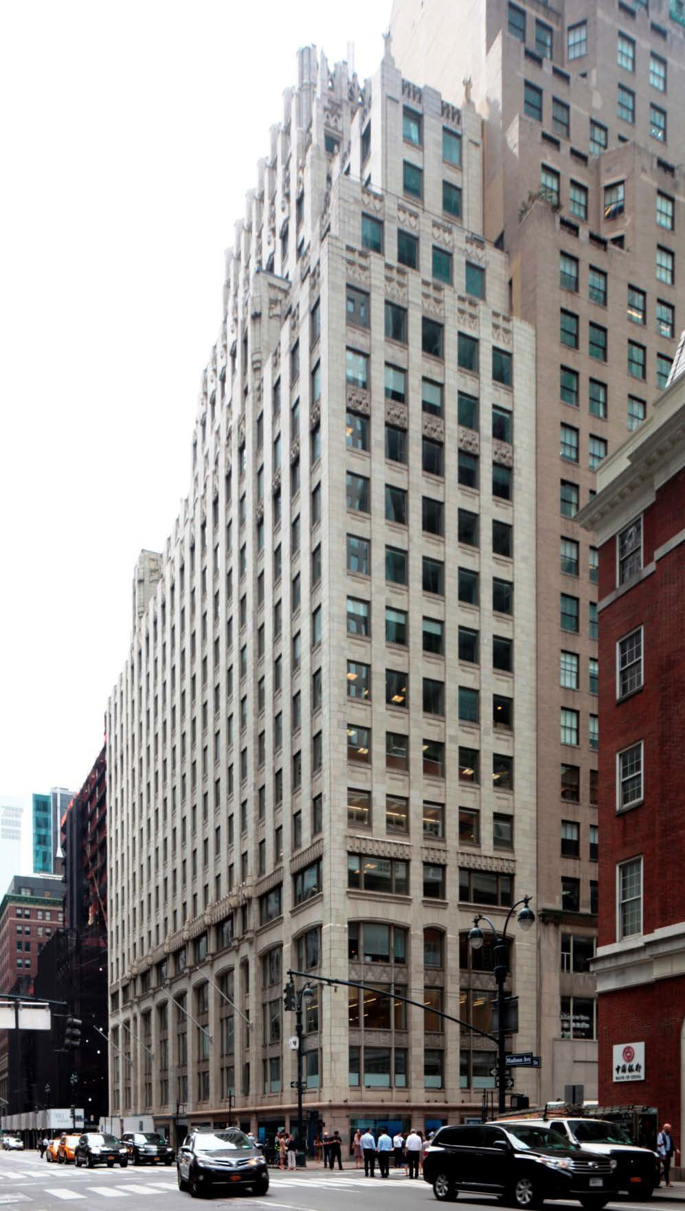 400 Madison Avenue as seen in 2016. LPC photo