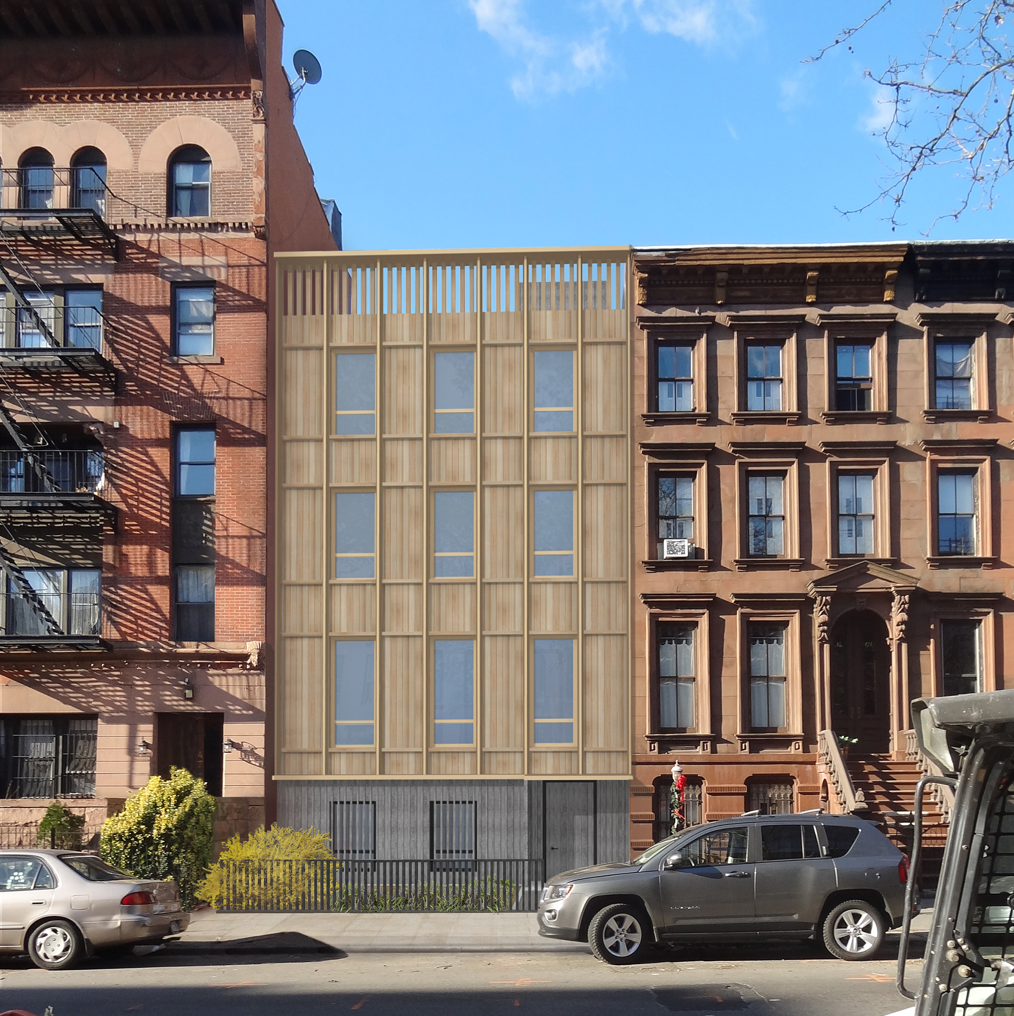 Approved design for 476 Washington Avenue