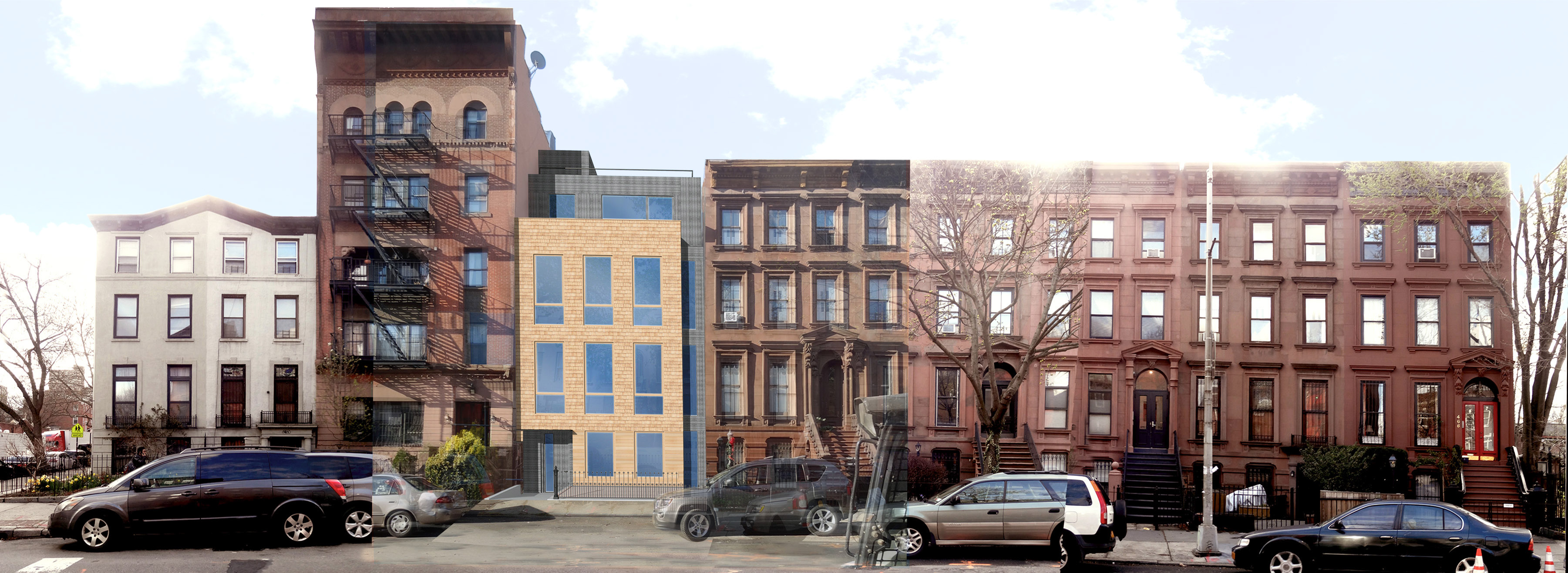 Previous proposal for 476 Washington Avenue