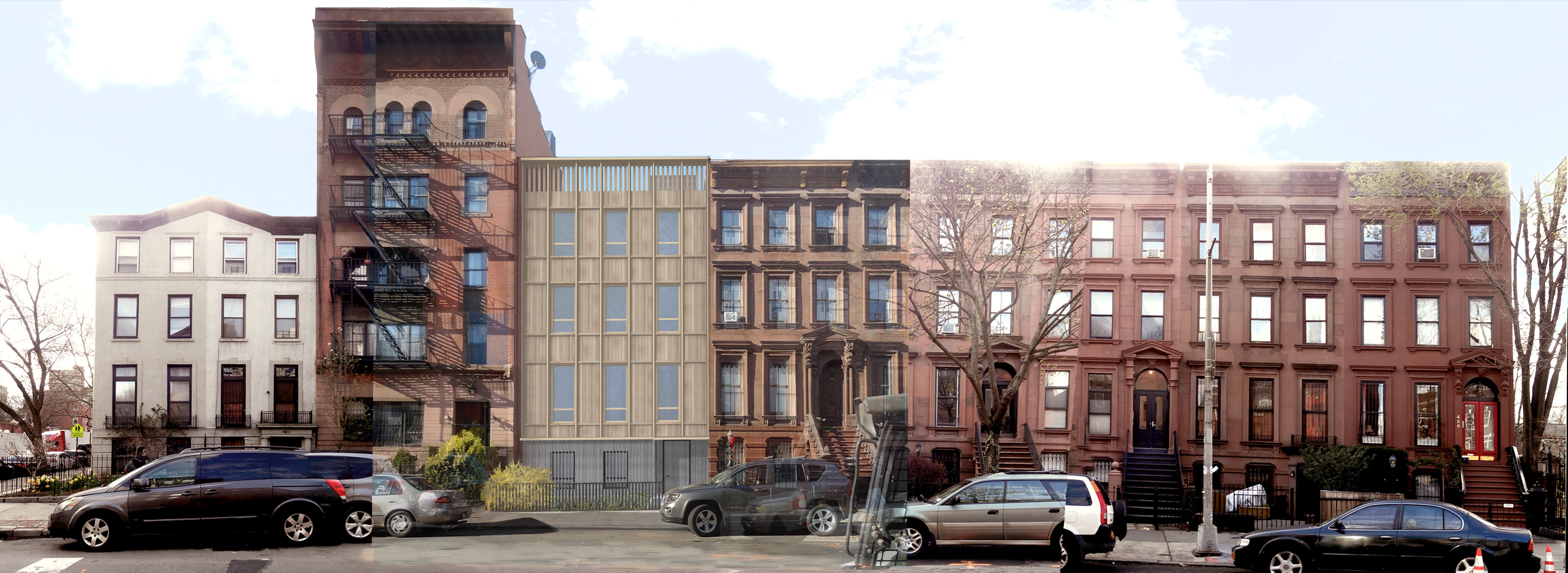 Updated design for 476 Washington Avenue