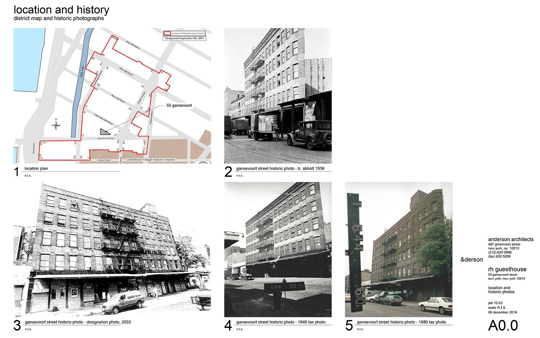 Restoration Hardwares Meatpacking District Hotel At  Gansevoort - New york map restoration hardware
