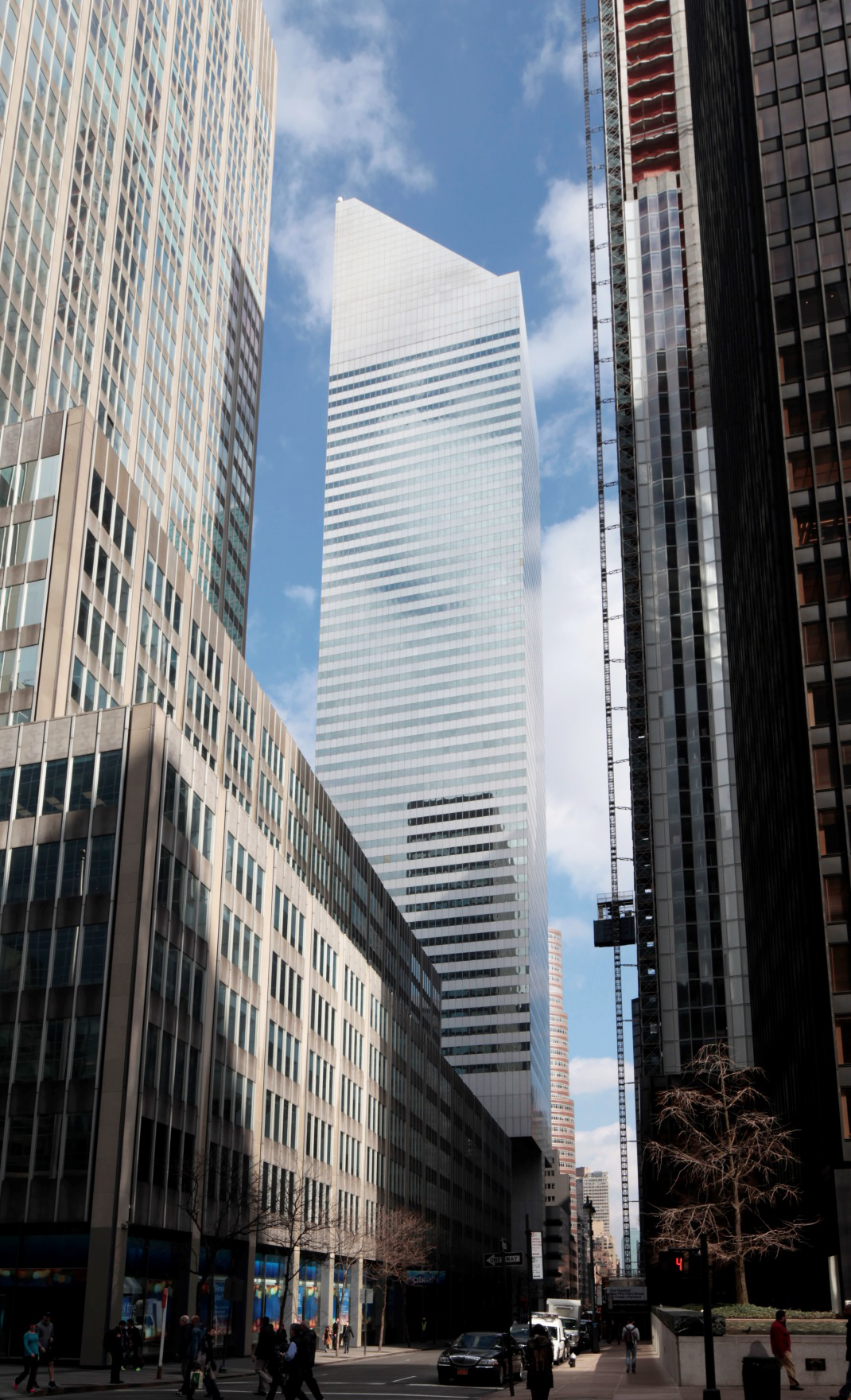 The former Citicorp Center, 601 Lexington Avenue, as seen in 2016. LPC photo