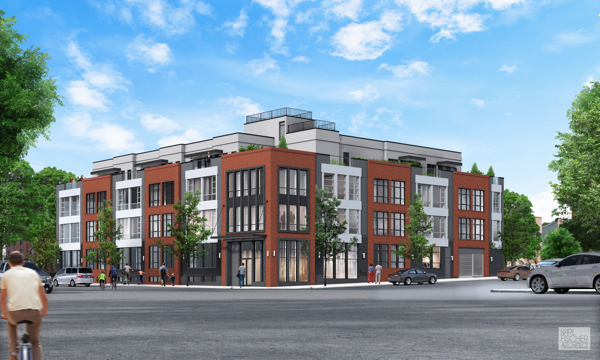 695 6th Avenue. rendering by Karl Fischer Architect