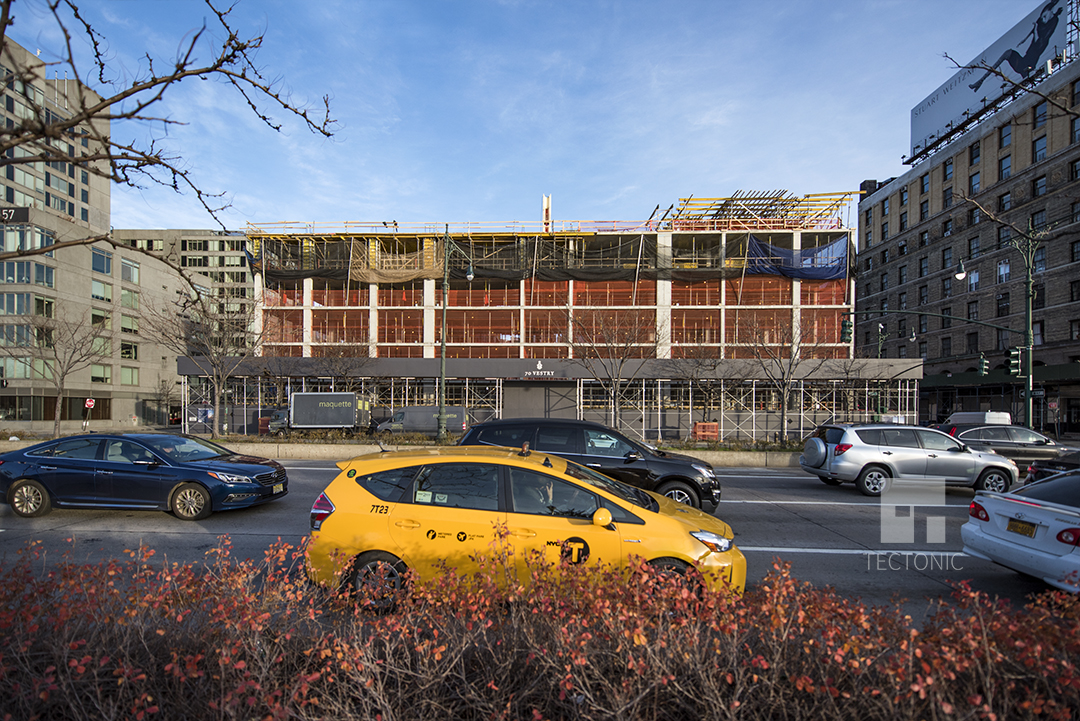 """70 Vestry Street from the West Side Highway. photo by <a href=""""http://tectonicphoto.com/"""">Tectonic</a>"""