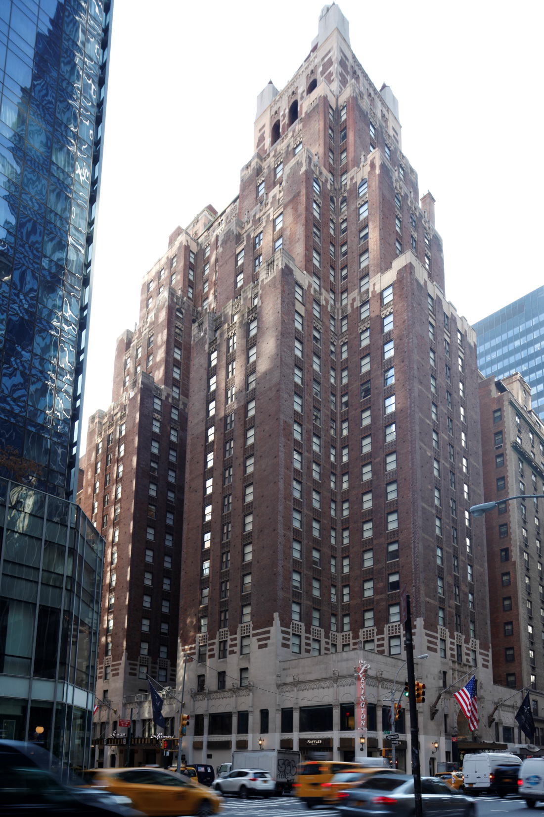 The Hotel Lexington at 511 Lexington Avenue, 2016. LPC photo