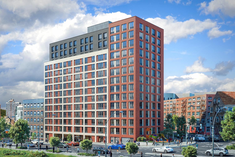 150 Van Cortlandt Avenue East. rendering by Marin Architects