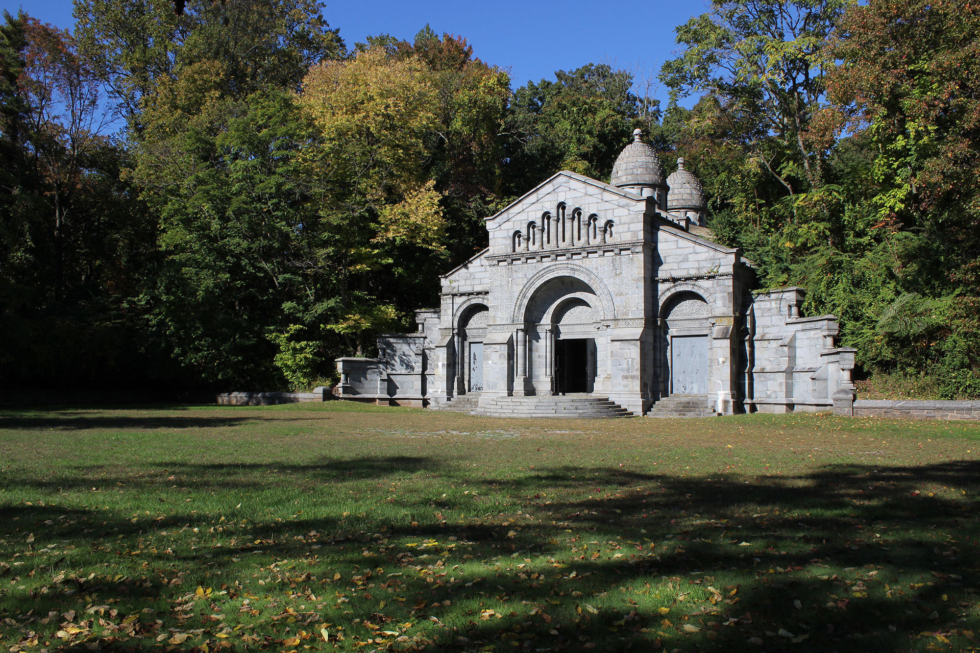 Vanderbilt Mausoleum. LPC photo