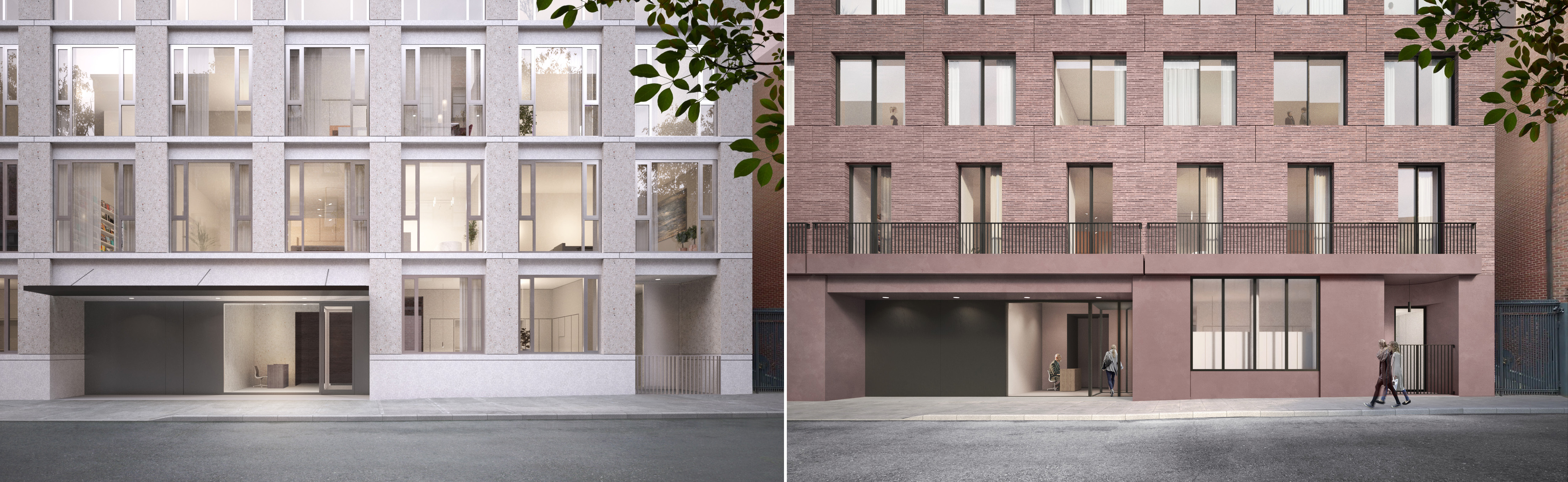 revised design for new west village residential building at 11 19 previous and revised proposals for 11 19 jane street by sir david chipperfield