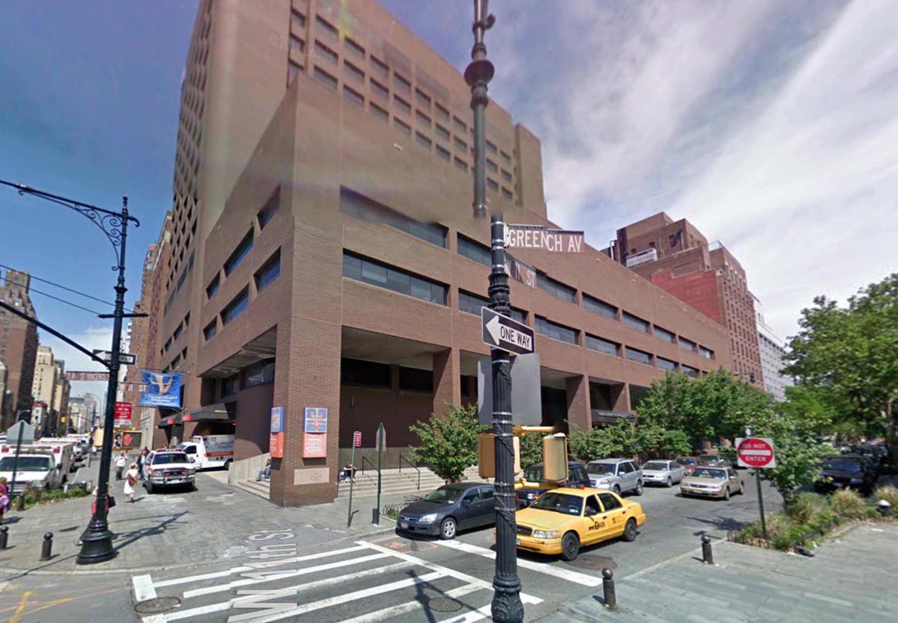 153 West 11th Street in May of 2009. Via Google Maps.